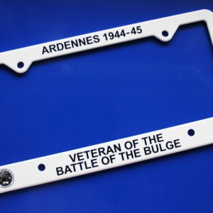 VBOB license plate frame
