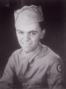 Joe Landry, 776th Anti-Aircraft Artillery, 