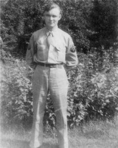 Robert S. Scherer, 106 INFD ARTY HQ BTRY